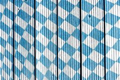 Traditional fabric texture. Oktoberfest background. Bavarian flag pattern. Design for the famous, traditional bavarian Oktoberfest. Bavarian flag pattern stock images