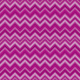 Traditional Fair Isle Abstract Chevron Knitted Pattern. Seamless Ornament for Knitting Sweater Design Royalty Free Stock Photography