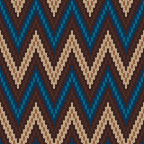 Traditional Fair Isle Pattern. Seamless Knitting Ornament Royalty Free Stock Images