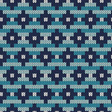 Traditional Fair Isle Pattern. Seamless Knitting Ornament Stock Photo
