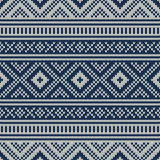 Traditional Fair Isle Pattern. Seamless Knitting Ornament Royalty Free Stock Photos