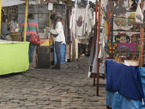 Traditional Fair of Recoleta in Buenos Aires Stock Images