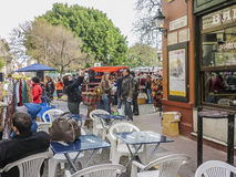 Traditional Fair in San Telmo Buenos Aires Royalty Free Stock Photography