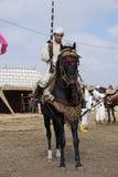 Traditional fantasia in Morocco Royalty Free Stock Photos