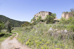 Traditional farm house in Catalonia Royalty Free Stock Photos