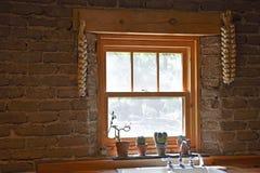 Free Traditional Farm House Kitchen Window Stock Image - 157035961