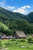 Traditional Farm House in Shirakawa Village. Japan Royalty Free Stock Photography