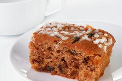 Traditional Farmhouse Fruitcake Royalty Free Stock Photos