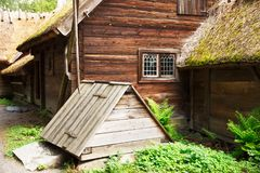Traditional farmhouse in Sweden Royalty Free Stock Photos