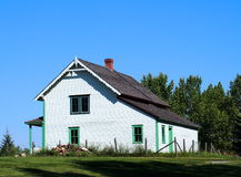 Traditional Farmhouse Stock Photo
