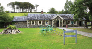Traditional Farms Entrance in Muckross gardens. Royalty Free Stock Photo