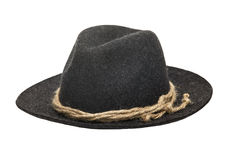 Traditional Felt Hat Gray Royalty Free Stock Photography