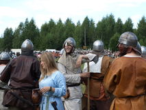 Traditional festival of the ancient culture of the Slavs Royalty Free Stock Photo