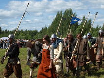 Traditional festival of the ancient culture of the Slavs Royalty Free Stock Image
