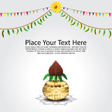 Traditional Festival Background Stock Photography