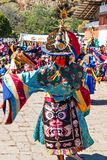 Traditional festival in Bumthang, Bhutan Stock Images