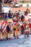 Traditional festival in Bumthang, Bhutan Royalty Free Stock Image