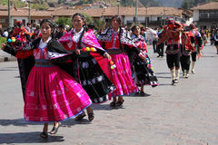 Traditional festival in Cusco, Peru Stock Photography