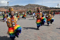 Traditional festival in Cusco, Peru Royalty Free Stock Photo