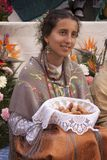 Traditional festival of Los Mayos and Las Mayas in the Lavapies neighborhood. Madrid Spain stock photo