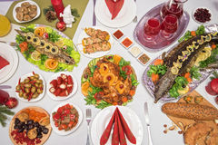 Traditional festive food Royalty Free Stock Photography