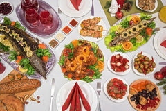 Traditional festive food Royalty Free Stock Images
