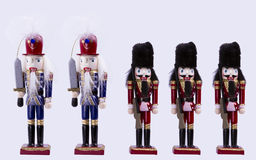 Traditional Figurine Christmas Nutcracker Stock Images