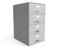 Traditional File Cabinet Royalty Free Stock Photo