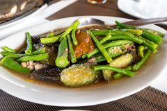 Traditional Filipino vegetable Food - Pinakbet royalty free stock photos