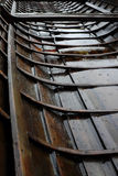 Traditional Finnish church boat Stock Images