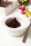 Traditional finnish Easter food, rye pudding Stock Photos