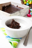 Traditional finnish Easter food, rye pudding royalty free stock photo