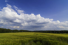 Traditional Finnish landscape Stock Images