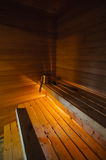 Traditional Finnish sauna Royalty Free Stock Image