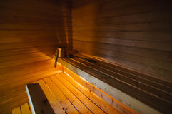 Traditional Finnish sauna Royalty Free Stock Photography