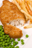 Traditional fish and chips Stock Photo