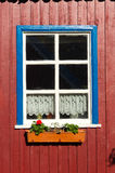 Traditional fisherman's house in Nida, Lithuania Stock Images