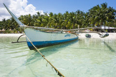 Traditional Fishermen Boat Of Philippines Royalty Free Stock Image