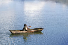 Traditional fishermen in a lake  2 Stock Photos