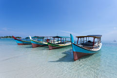 Traditional Fishermens Boat Stock Image