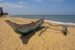 Traditional fishing boat royalty free stock photos
