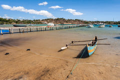 Traditional fishing boat Stock Photos