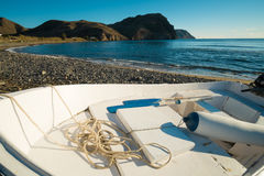 Traditional fishing boat Stock Photos