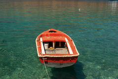 Traditional fishing boat in Greece Stock Image