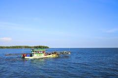 Traditional fishing boat Stock Image