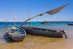 Traditional fishing boats Stock Image