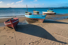 Traditional fishing boats Stock Images