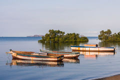 Traditional fishing boats Stock Photo