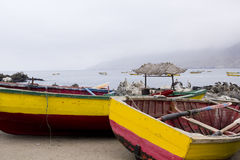 Traditional fishing boats Royalty Free Stock Images