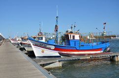 Traditional fishing boats Stock Photography